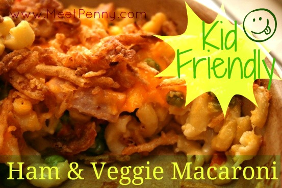 kid friendly vegetable macaroni and cheese