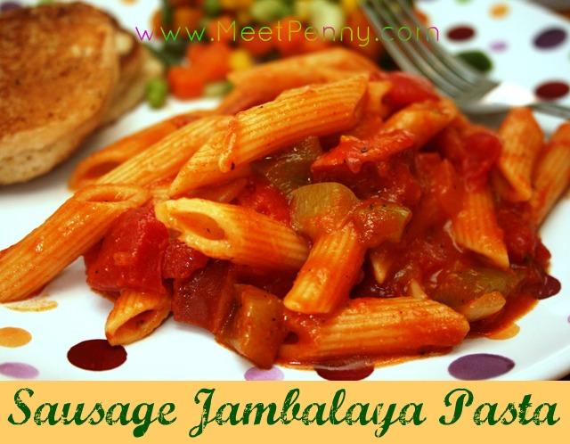 RECIPE: Sausage Jambalaya Pasta