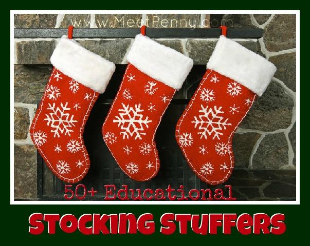 50+ Educational Stocking Stuffer Ideas