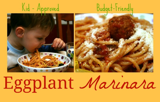 5 Days of Oven-Free Meals: Eggplant Marinara