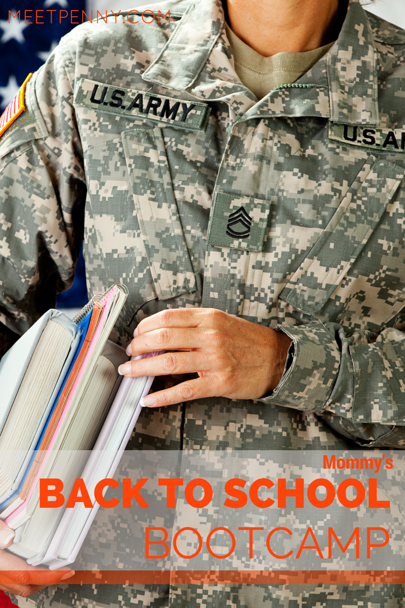 Mommy's Back to School Boot Camp