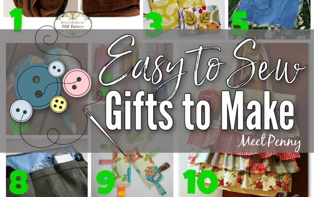 15 Handmade Christmas Gift Ideas to Sew