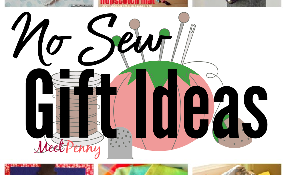 9 No-Sew Fabric Gift Ideas