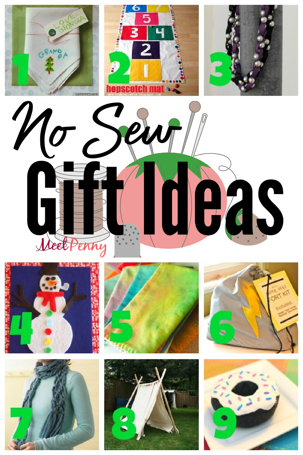 9 No Sew Fabric Gift Ideas Meet Penny