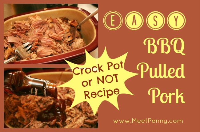 RECIPE: BBQ Pulled Pork with Boston Butt