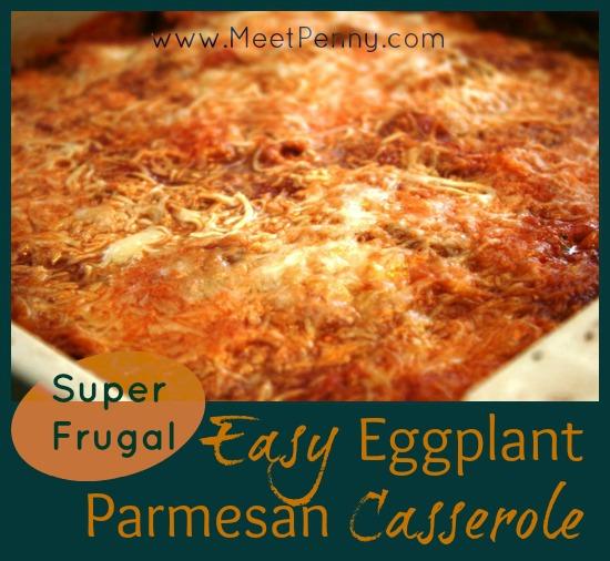 easy quick eggplant parmesan