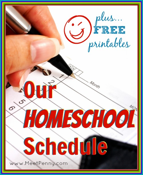 Wow. This post is very popular. An outline of their homeschool day as well as all the printables she uses.