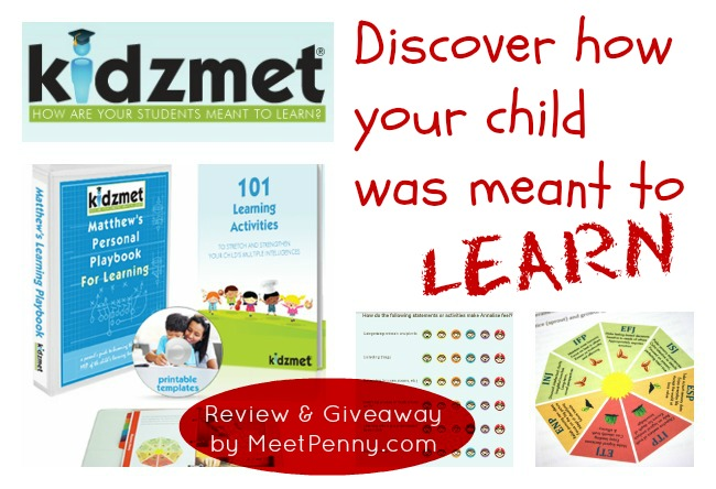 Kidzmet Playbook for Learning Review (& Giveaway)