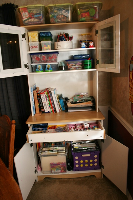 finding space to homeschool
