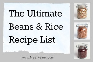 ultimate list of frugal dinners with beans and rice