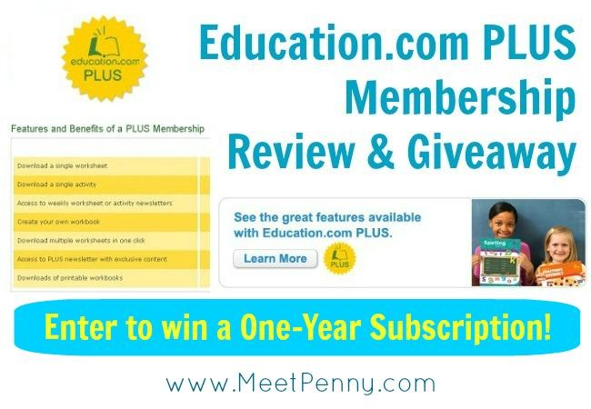 Education.com PLUS Membership (Review & Giveaway)