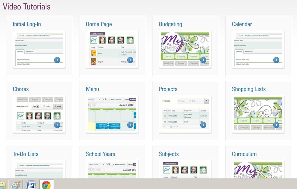 homeschool planning curriculum software