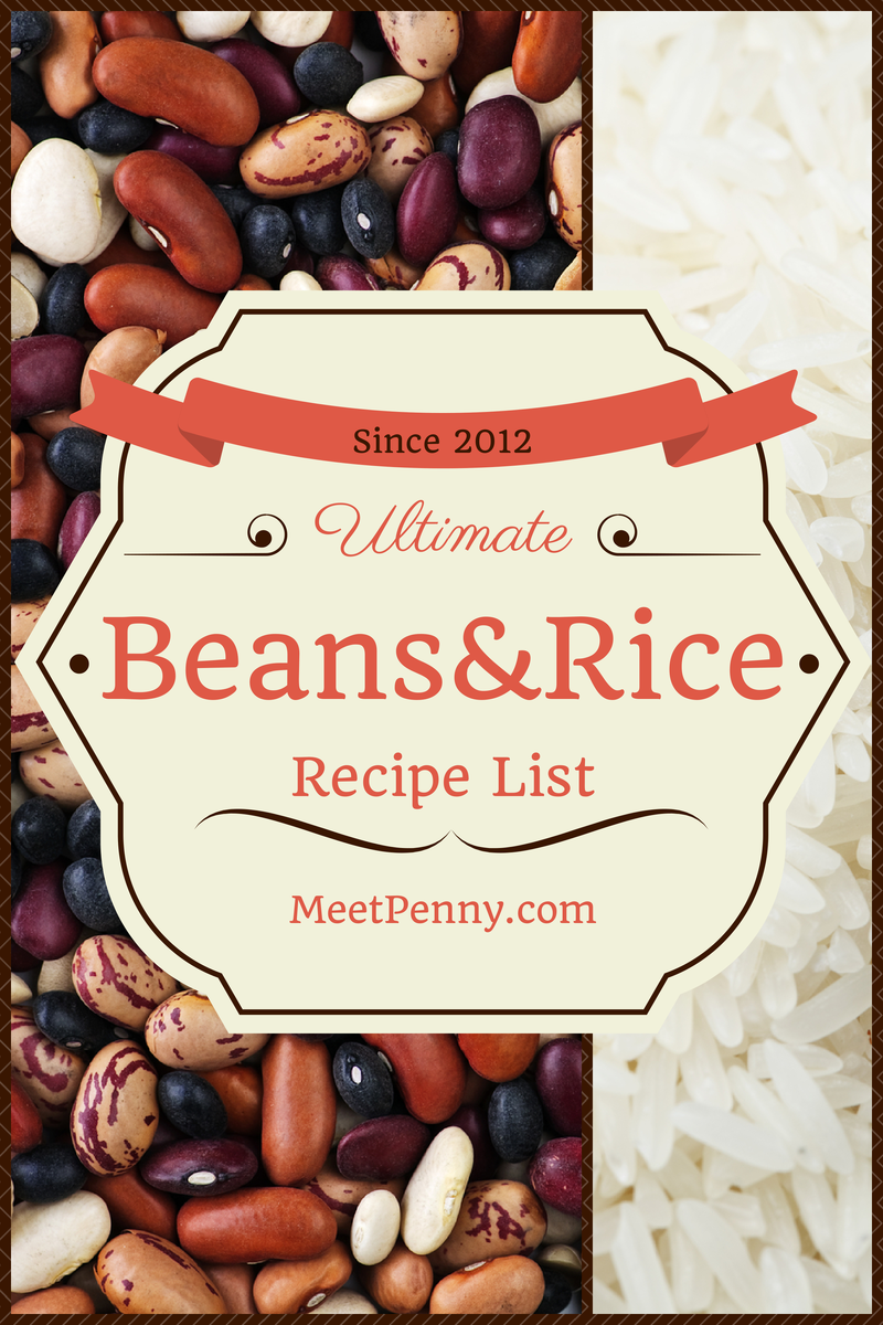 Undoubtably! This is definitely the ultimate list of frugal dinners with beans and/or rice.