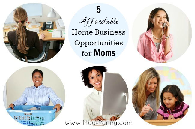 Affordable Home Business Opportunities for Moms