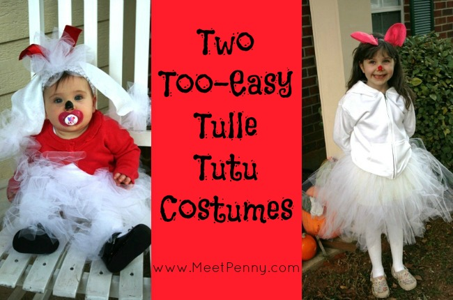 Homemade Holiday: 2 Too-Easy Tulle Tutu Costumes