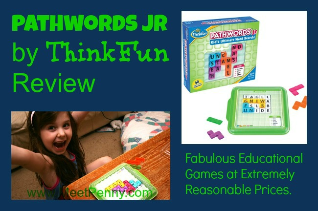 ThinkFun Pathwords Jr Educational Game Review