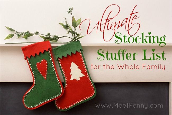 Ultimate List of Stocking Stuffer Ideas for the Whole Family (600+ Ideas)