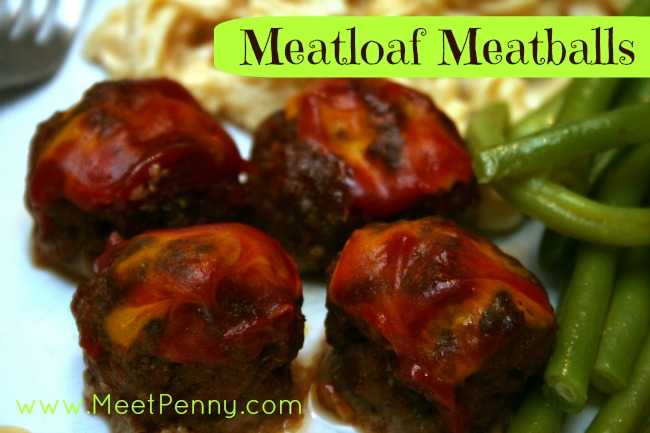RECIPE: Meatloaf Meatballs