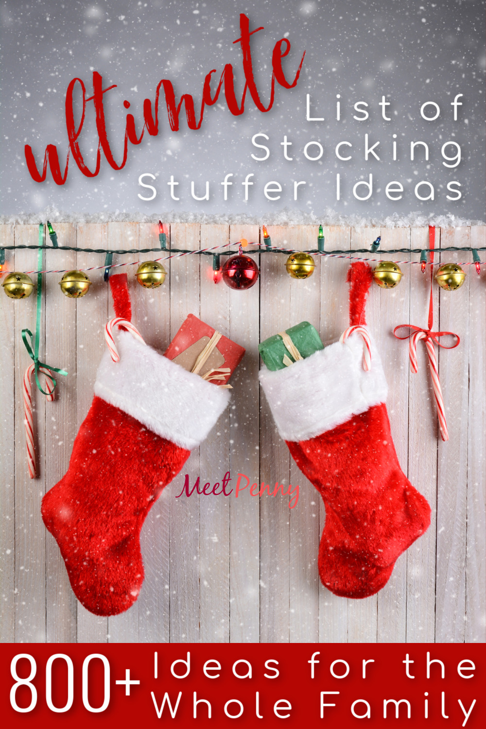 Inexpensive stocking stuffer ideas for everyone on your list - Over 800 ideas for children ages 0 through Adults. Great for gift basket ideas too.