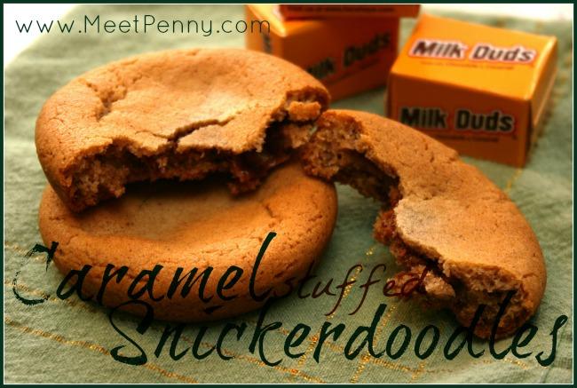 RECIPE: Caramel-Stuffed Snickerdoodles