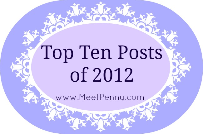 Merry Christmas ~ Top 10 Posts of 2012