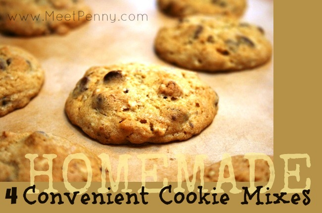 4 Convenient Mixes for Homemade Cookies