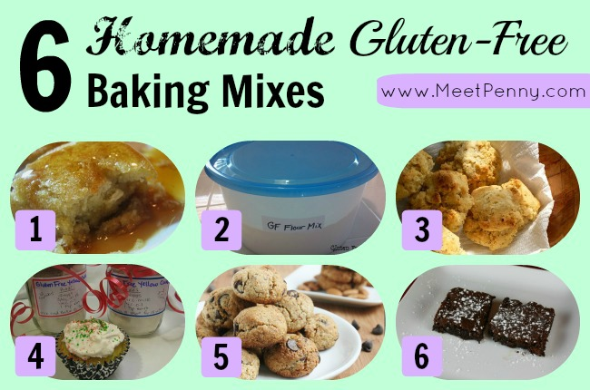 6 Homemade Gluten-Free Baking Mixes