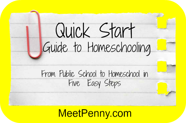 Quick Start Guide to Homeschooling
