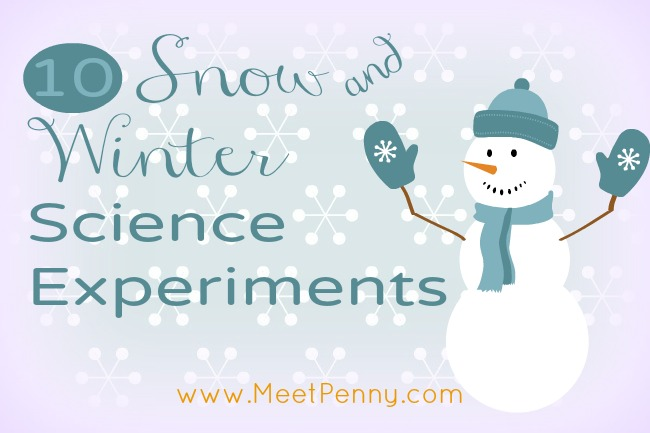 Winter & Snow Science Experiments