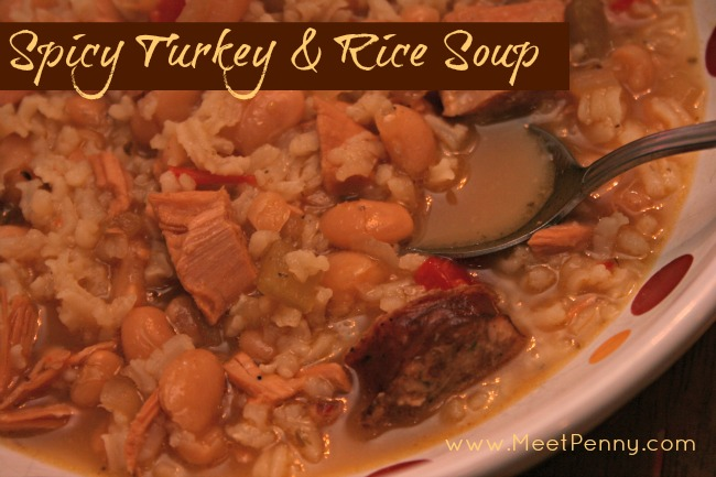 RECIPE: Spicy Turkey & Rice Soup