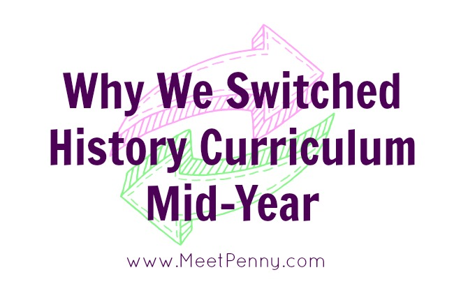 Why We Switched History Curriculum Mid-Year