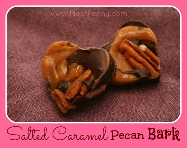RECIPE: Salted Caramel Pecan Bark