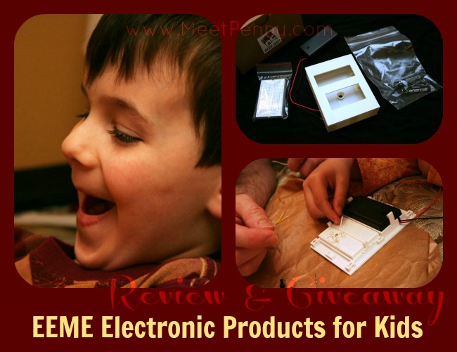 EEME Electronic Projects for Kids Review (Giveaway 2/7 ~ 2/13)