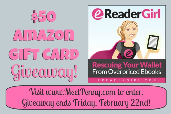 Win a $50 Amazon Gift Card from eReader Girl