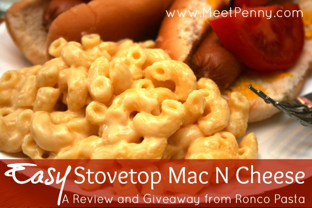 Easy Stovetop Mac N Cheese (with a Review and Giveaway) - Meet Penny