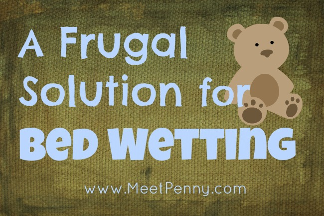 Frugal Solutions for Bed Wetting