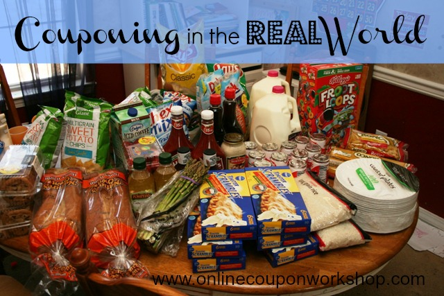 Couponing in the Real World: Week One