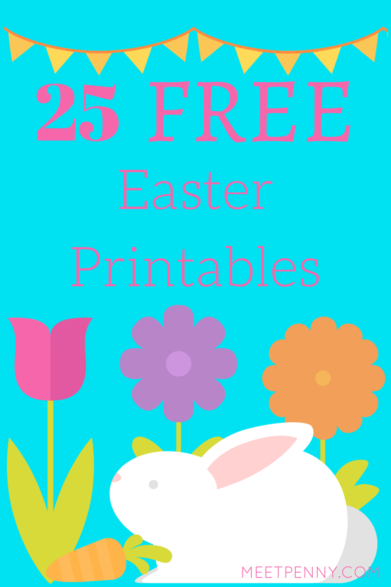 25 Free Educational Easter Printables