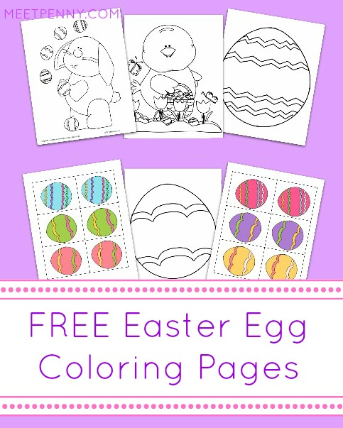 Free Easter coloring pages, matching game