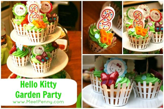 Hello Kitty Garden Party (Free Printable too!)