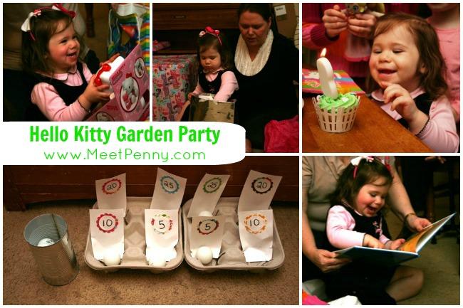 hello kitty party theme games gift ideas