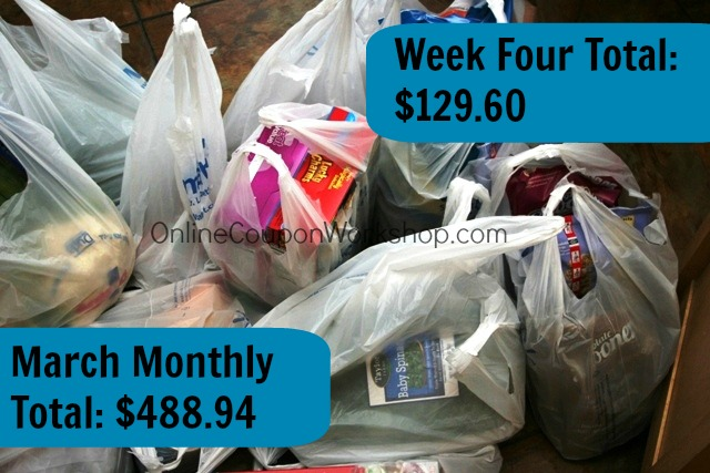 Couponing in the Real World: March Totals