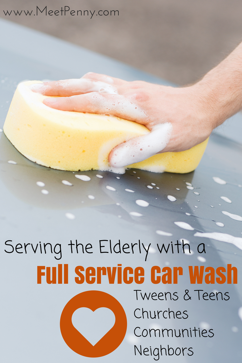 Serving the Elderly with a Full Service Car Wash