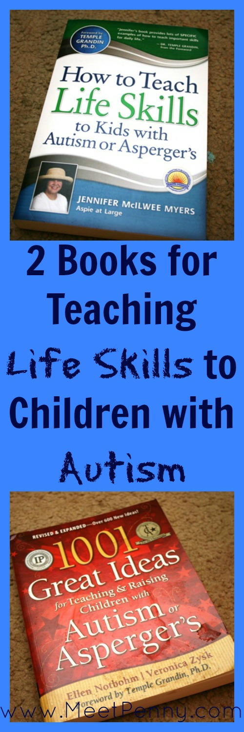 Two books for teaching practical skills to children with Autism