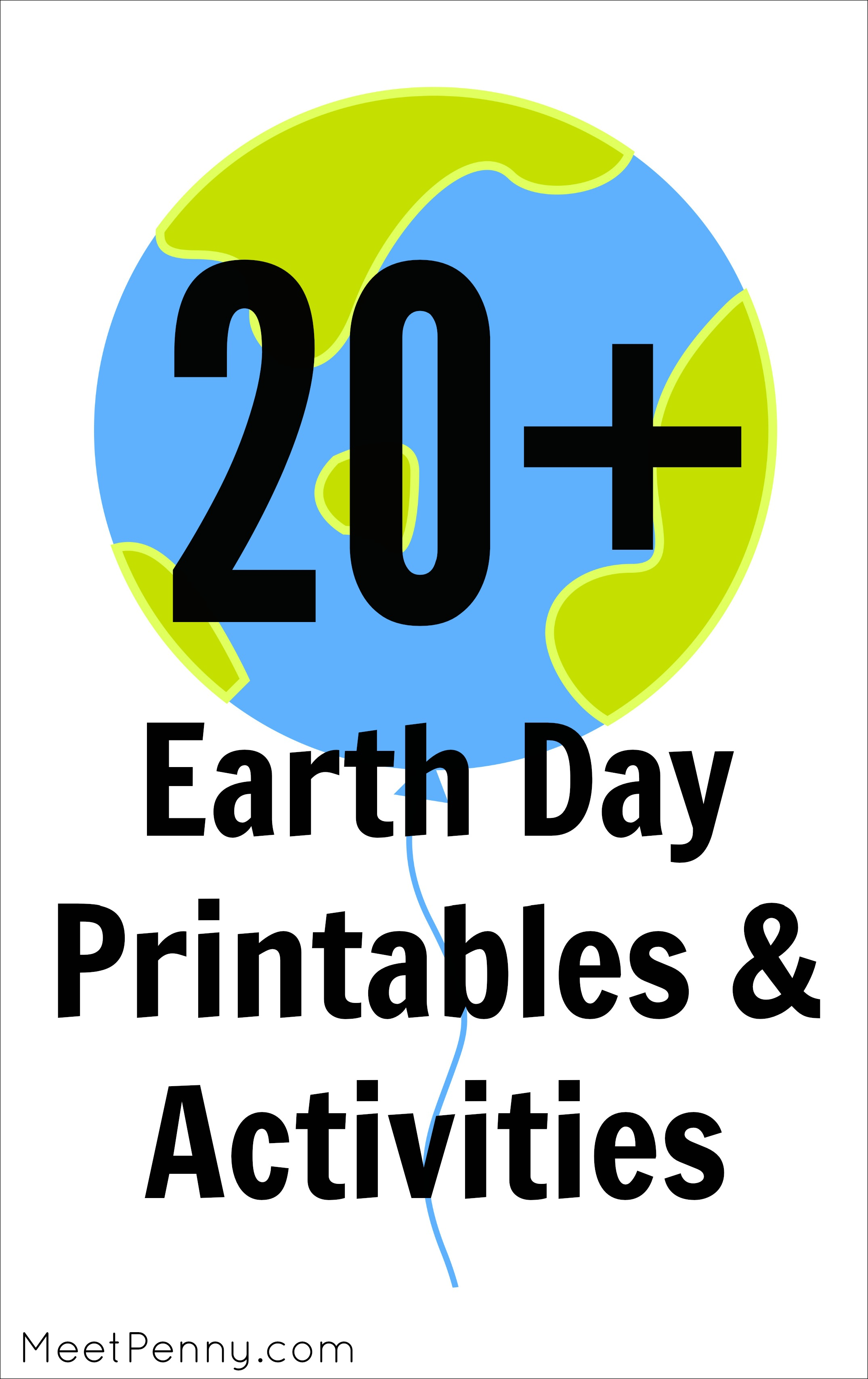 20+ Printables & Activities for Earth Day