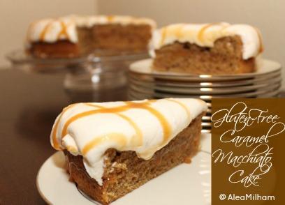 Gluten Free Caramel Macchiato Cake