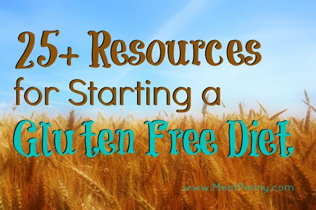 25+ Resources for Starting a Gluten-Free Diet