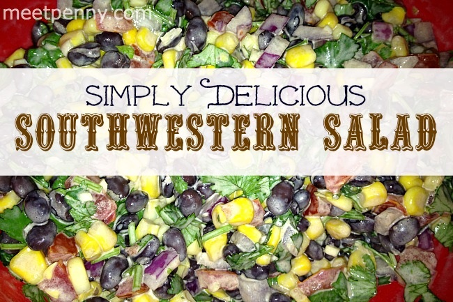 Simply Delicious Southwestern Salad