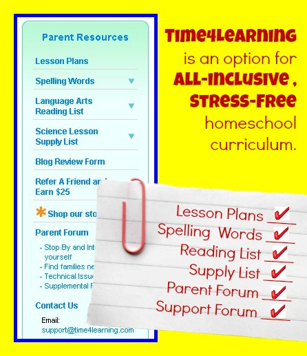 time4learning homeschool curriculum