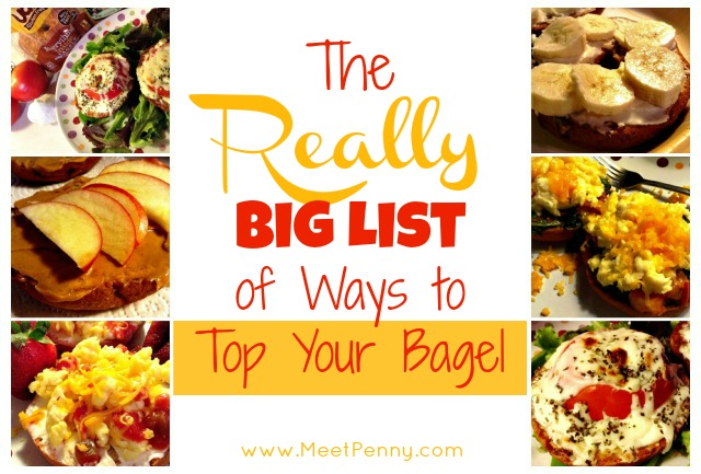 The Really Big List of Ways to Top Your Bagel